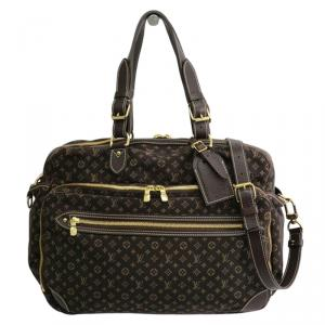 Louis Vuitton Ebene Monogram Mini Lin Sac A Langer Diaper Bag