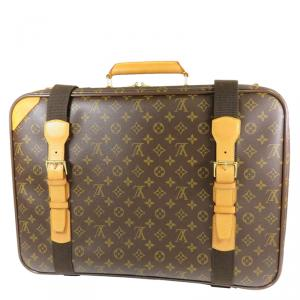 Louis Vuitton Monogram Canvas Satellite Suitcase 70