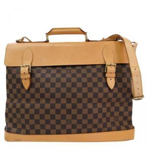 Louis Vuitton Damier Ebene Canvas Limited Edition Centenaire West End Travel Bag