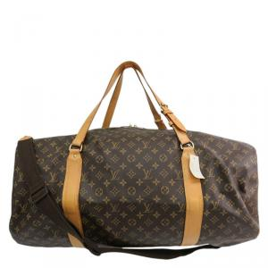 Louis Vuitton Monogram Canvas Sac Polochon Travel Bag