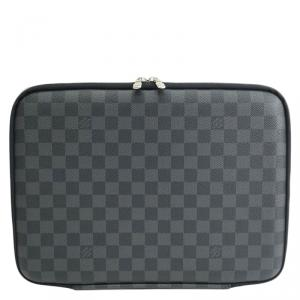 Louis Vuitton Damier Graphite Canvas Sleeve PM Laptop Bag