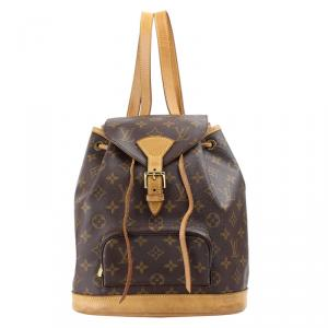 Louis Vuitton Monogram Canvas Montsouris Backpack MM