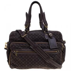 Louis Vuitton Fusain Monogram Mini Lin Sac a Langer Diaper Bag