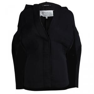 Maison Martin Margiela Black Hooded Cape S