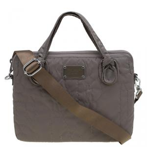 Marc By Marc Jacobs Quartz Brown Nylon Pretty 13'' Laptop Bag