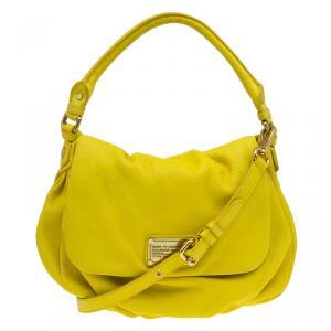 حقيبة مارك باي مارك جاكوبس كلاسيك كيو ليل يوكيتا جلد أصفر