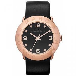 Marc by Marc Jacobs Black Gold-Plated Stainless Steel MBM1225 Women's Wristwatch 36MM
