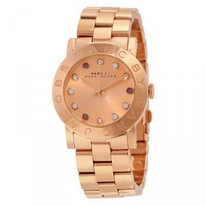 Marc by Marc Jacobs Rose Gold Gold-Plated Stainless Steel MBM3216 Women's Wristwatch 36MM
