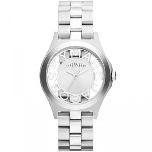 Marc by Marc Jacobs Silver Stainless Steel MBM3291 Women's Wristwatch 32MM