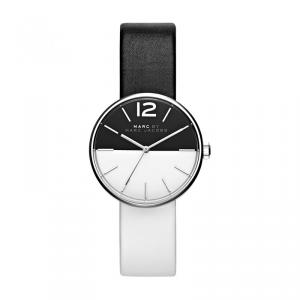 Marc by Marc Jacobs Black and White Stainless Steel MBM1366-2 Women's Wristwatch 36MM