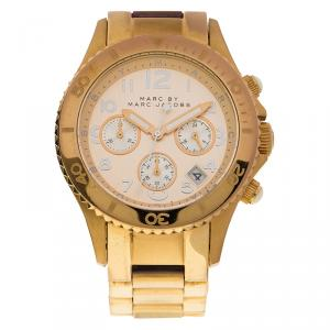 Marc by Marc Jacobs Champagne Gold-Plated Stainless Steel MBM3156 Women's Wristwatch 40MM