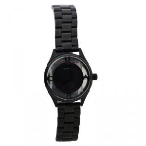Marc By Marc Jacobs Black Stainless Steel MBM3419 Women's Wristwatch 25MM