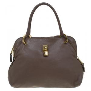 Marc Jacobs Brown Leather Paradise Rio Satchel