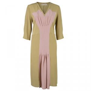 Marni Nude Silk Dress M