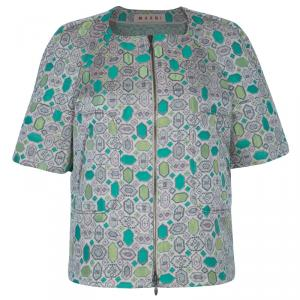 Marni Multicolor Print Jacket L