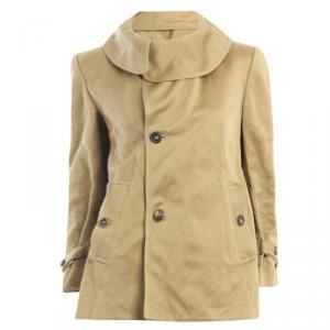 Marni Beige Asymmetric Jacket S