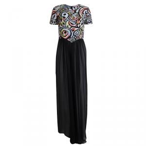 Matthew Williamson Multicolor Printed Silk Maxi Dress M