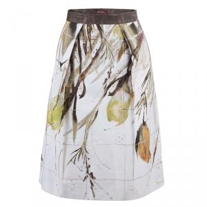 Max Mara Studio Watercolor Printed Skirt M
