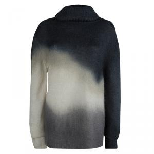McQ By Alexander McQueen Ombre Effect Turtleneck Sweater L