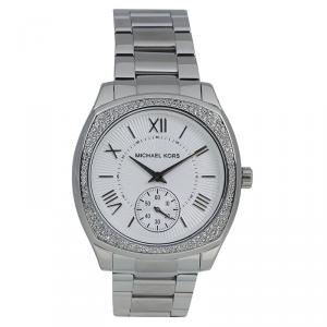 Michael Kors Silver Stainless Steel Bryn MK6133 Women's Wristwatch 40MM