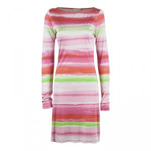 Michael Kors Multicolor Striped Dress M