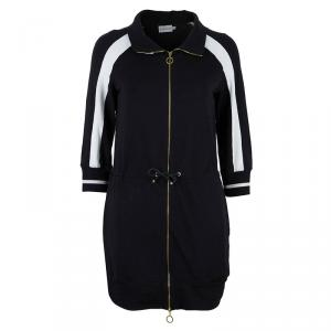 Moncler Monochrome Long Cardigan M