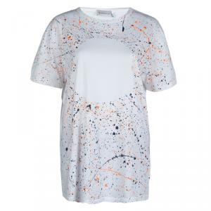 Moncler Paint Splattered Print T-Shirt XXL