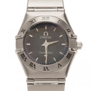 Omega Stainless Steel Constellation Wristwatch 24mm