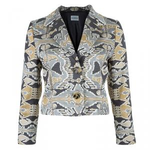 Philosophy di Alberta Ferretti Abstract Printed Jacket M