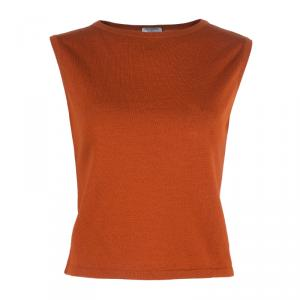 Philosophy by Alberta Ferretti Tangerine Wool Top M