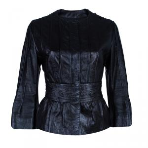 Philosophy di Alberta Ferretti Leather Jacket M
