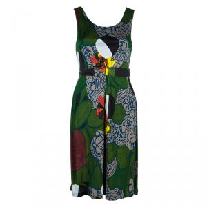 Philosophy di Alberta Ferretti Multicolor Print Dress S