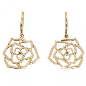 Piaget Rose Diamond Rose Gold Earrings