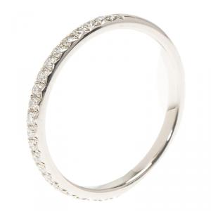 Piaget Wedding Diamond Platinum Ring Size 51