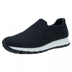 Prada Sport Black Nylon Slip on Sneakers Size 35.5