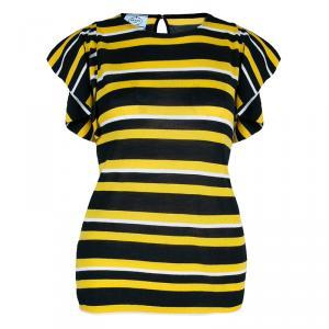 Prada Striped Knit Top M