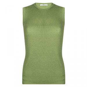 Prada Green Sleeveless Sweater M