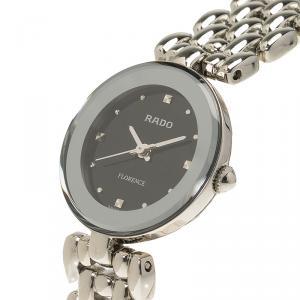 Rado Black Stainless Steel Florence Women's Wristwatch 23MM