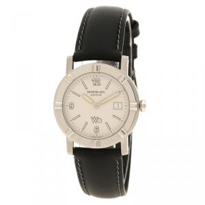 Raymond Weil Cream W1 Leather Women's Wristwatch 30MM