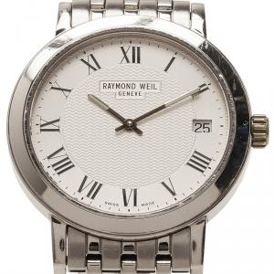 Raymond Weil Silver Stainless Steel Tradition Women's Wristwatch 34MM