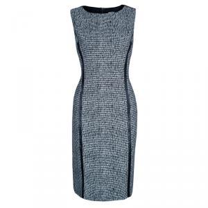 RED Valentino Monochrome Textured Dress M