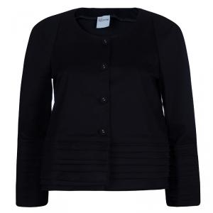RED Valentino Black Layered Jacket M