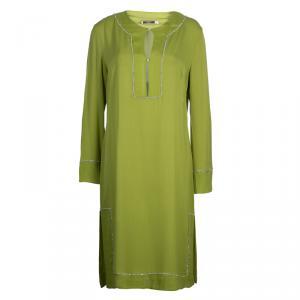 RED Valentino Green Tunic Dress L