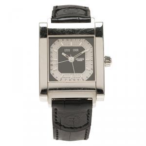 ساعة يد نسائية روبيرجيه بيغاس كوانتيم ستانلس ستيل سوداء 32 مم
