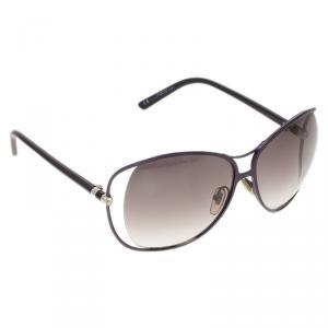Saint Laurent Paris Blue 6241S Cutout Sunglasses