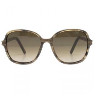 Saint Laurent Paris Brown Square Sunglasses