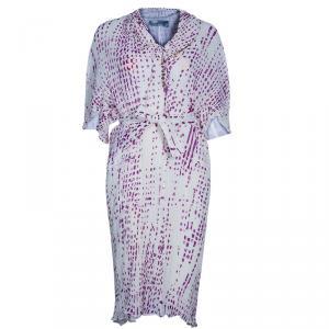فستان سان لوران باريس دوت بليس شيفون L