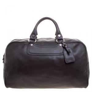 حقيبة سفر سيلسن جلد بني داكن
