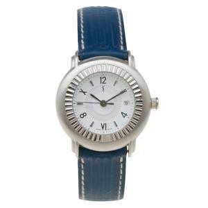 Saint Laurent Paris White Stainless Steel Classic Women's Wristwatch 29MM