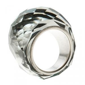 Swarovski Nirvana Crystal Silver Plated Ring